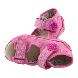 Befado žluté dětské boty 342P011 růžový 7