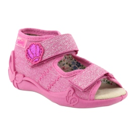 Befado žluté dětské boty 342P011 růžový 3