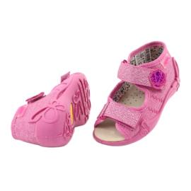 Befado žluté dětské boty 342P011 růžový 6