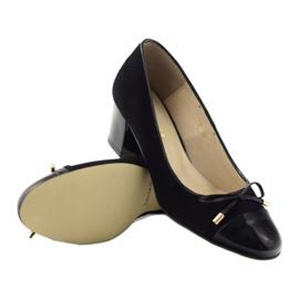 Čerpadla s lukem Sagan 2275 dámské boty černé černá 3