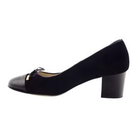 Čerpadla s lukem Sagan 2275 dámské boty černé černá 2