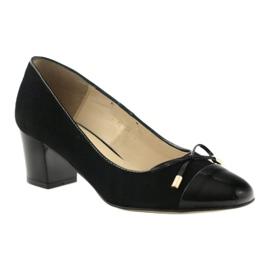 Čerpadla s lukem Sagan 2275 dámské boty černé černá 1