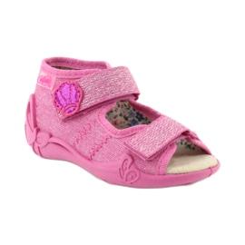 Befado žluté dětské boty 342P011 1