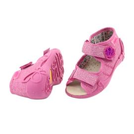 Befado žluté dětské boty 342P011 4