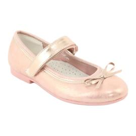 American Club Golden Rose Ballerinas s americkým klubovým lukem GC03 / 20 růžový žlutý 1