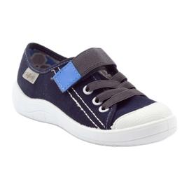 Velcro tenisky Befado 251Q047 tmavě modrá válečné loďstvo 3