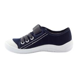 Velcro tenisky Befado 251Q047 tmavě modrá válečné loďstvo 4