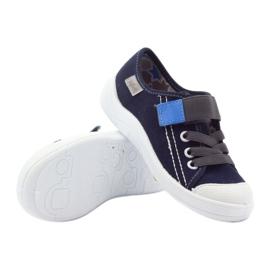 Velcro tenisky Befado 251Q047 tmavě modrá válečné loďstvo 5