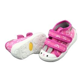 Befado oranžové dětské boty 212P066 4