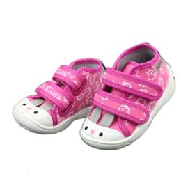 Befado oranžové dětské boty 212P066 3