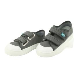 Dětská obuv Befado 440X014 šedá 4