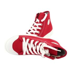 Dětská obuv Befado 438X011 červená 5
