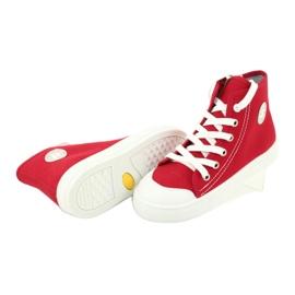 Dětská obuv Befado 438X011 červená 4