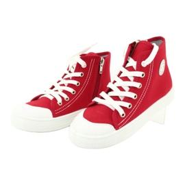 Dětská obuv Befado 438X011 červená 3