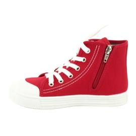 Dětská obuv Befado 438X011 červená 2