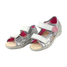 Dětské boty Befado pu 065P139 šedá 3