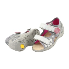 Dětské boty Befado pu 065P139 šedá 4