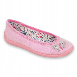 Dětská obuv Befado 980X098 růžový 1