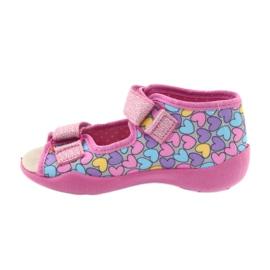 Dětská obuv Befado žlutá 342P014 růžový 2