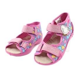 Dětská obuv Befado žlutá 342P014 růžový 3