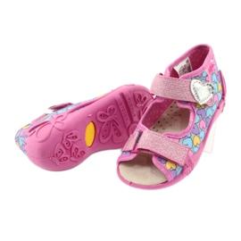Dětská obuv Befado žlutá 342P014 růžový 4