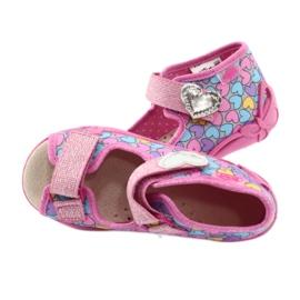 Dětská obuv Befado žlutá 342P014 růžový 5