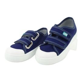 Dětská obuv Befado 440X010 modrý 4
