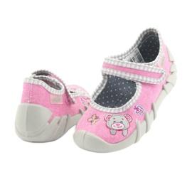 Befado dětské boty 109P180 růžový 9