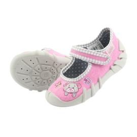 Befado dětské boty 109P180 růžový 11