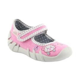 Befado dětské boty 109P180 růžový 4