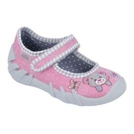 Befado dětské boty 109P180 růžový 1