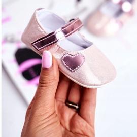 Apawwa Dětské tenisky Velcro Křest Pink Bellawa růžový 2