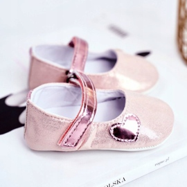 Apawwa Dětské tenisky Velcro Křest Pink Bellawa růžový 3