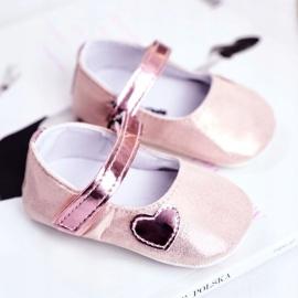 Apawwa Dětské tenisky Velcro Křest Pink Bellawa růžový 1