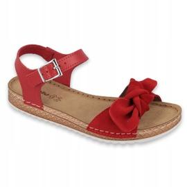 Dámské boty Comfort Inblu 158D117 červená 1