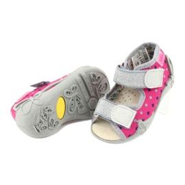 Befado žlutá dětská obuv 342P008 4