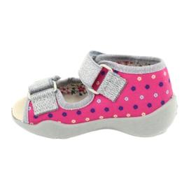 Befado žlutá dětská obuv 342P008 2
