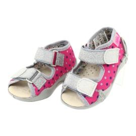 Befado žlutá dětská obuv 342P008 3