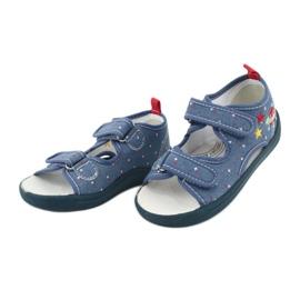 American Club Americké sandály dětské boty kožená stélka TEN28 2