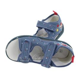 American Club Americké sandály dětské boty kožená stélka TEN28 4