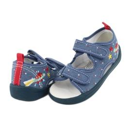 American Club Americké sandály dětské boty kožená stélka TEN28 3