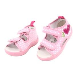 American Club Dětská obuv pantofle sandály srdce American TEN20 1