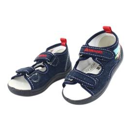 American Club Americké sandály dětské boty kožená stélka TEN46 2