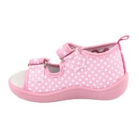 American Club Dětská obuv pantofle sandály srdce American TEN20 4