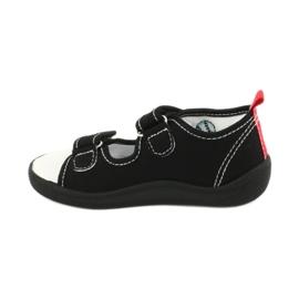American Club Chlapecké sandály pantofle American TEN27 černá 1