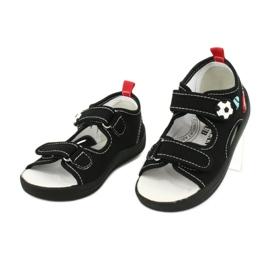 American Club Chlapecké sandály pantofle American TEN27 černá 2