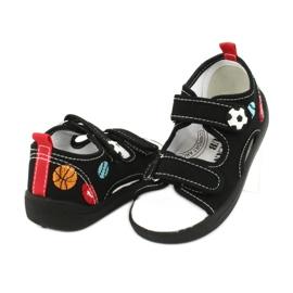 American Club Chlapecké sandály pantofle American TEN27 černá 3