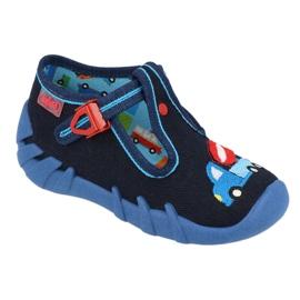 Dětská obuv Befado 110P385 válečné loďstvo modrý 1