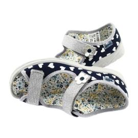 Dětská obuv Befado 969X148 navy blue 4