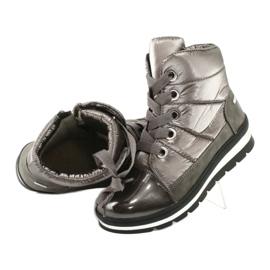 Hnědé sněhové boty, membrána Caprice 26212 hnědý 4